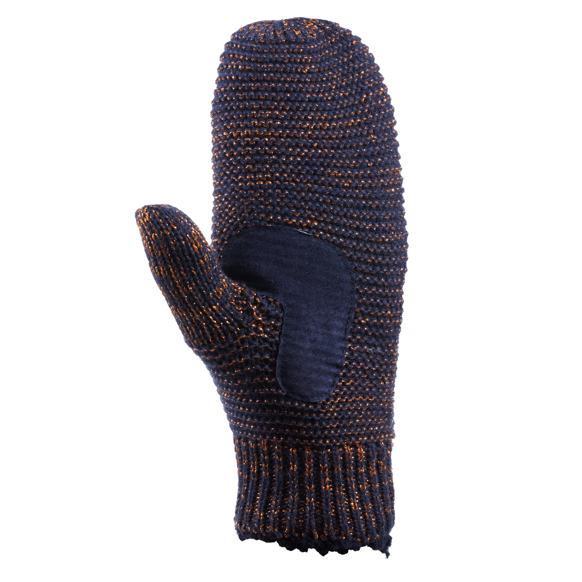 Women's Knit Mittens with Lurex  12