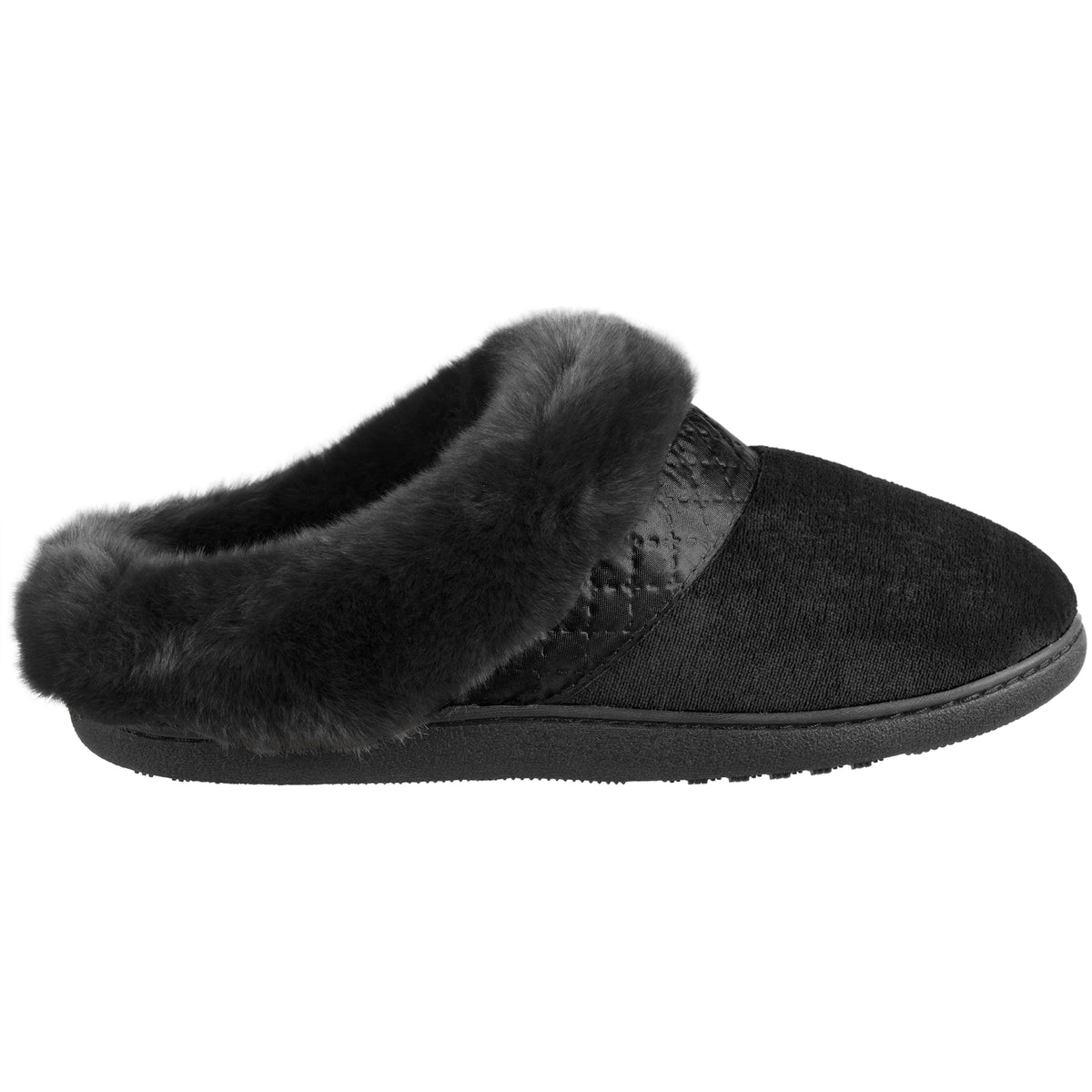 Women's Velour Diane Hoodback Slippers