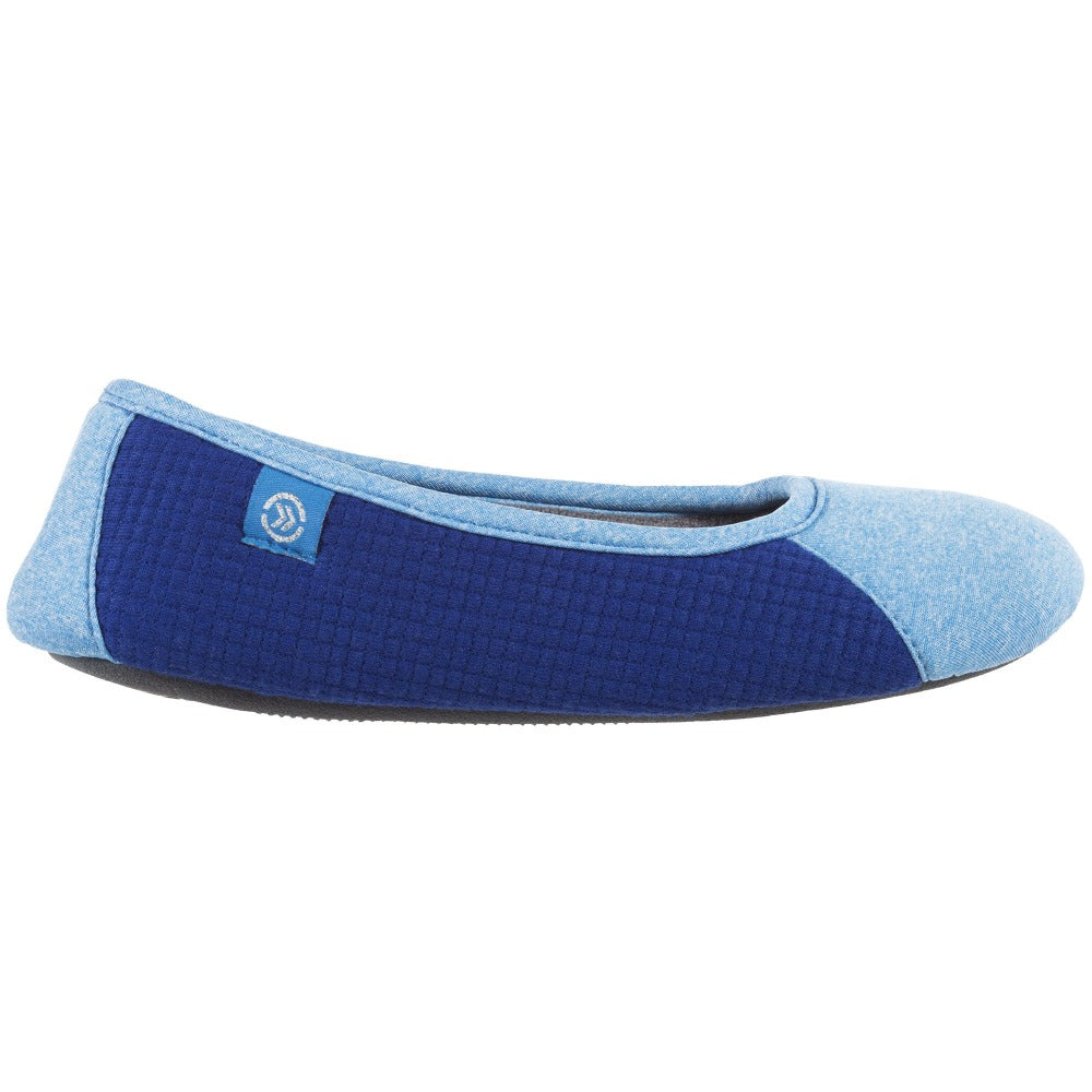 Women's Gina Sport Ballerina in Blue Profile