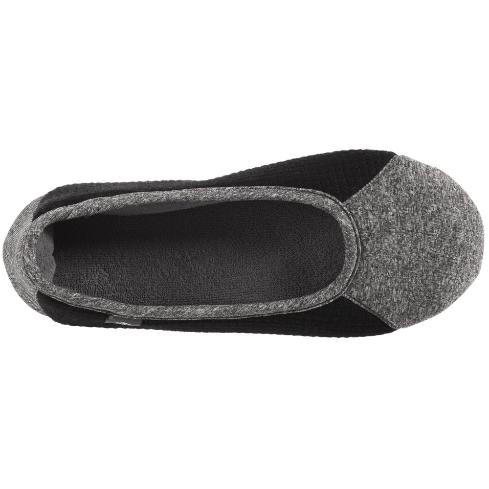 Women's Gina Sport Ballerina in Dark Charcoal Heather Inside Top View