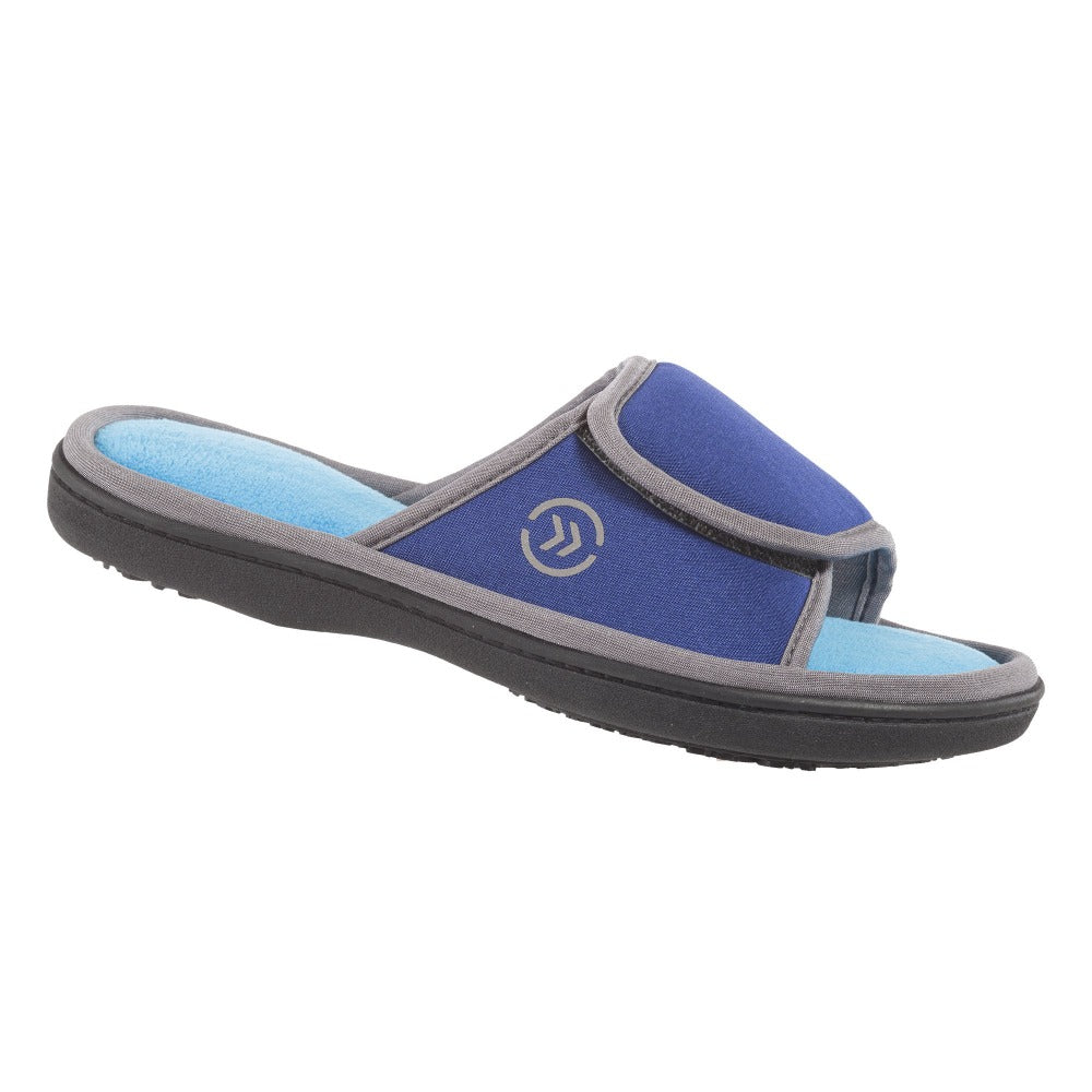 Women's Satin Cassandra Slide Slippers side view