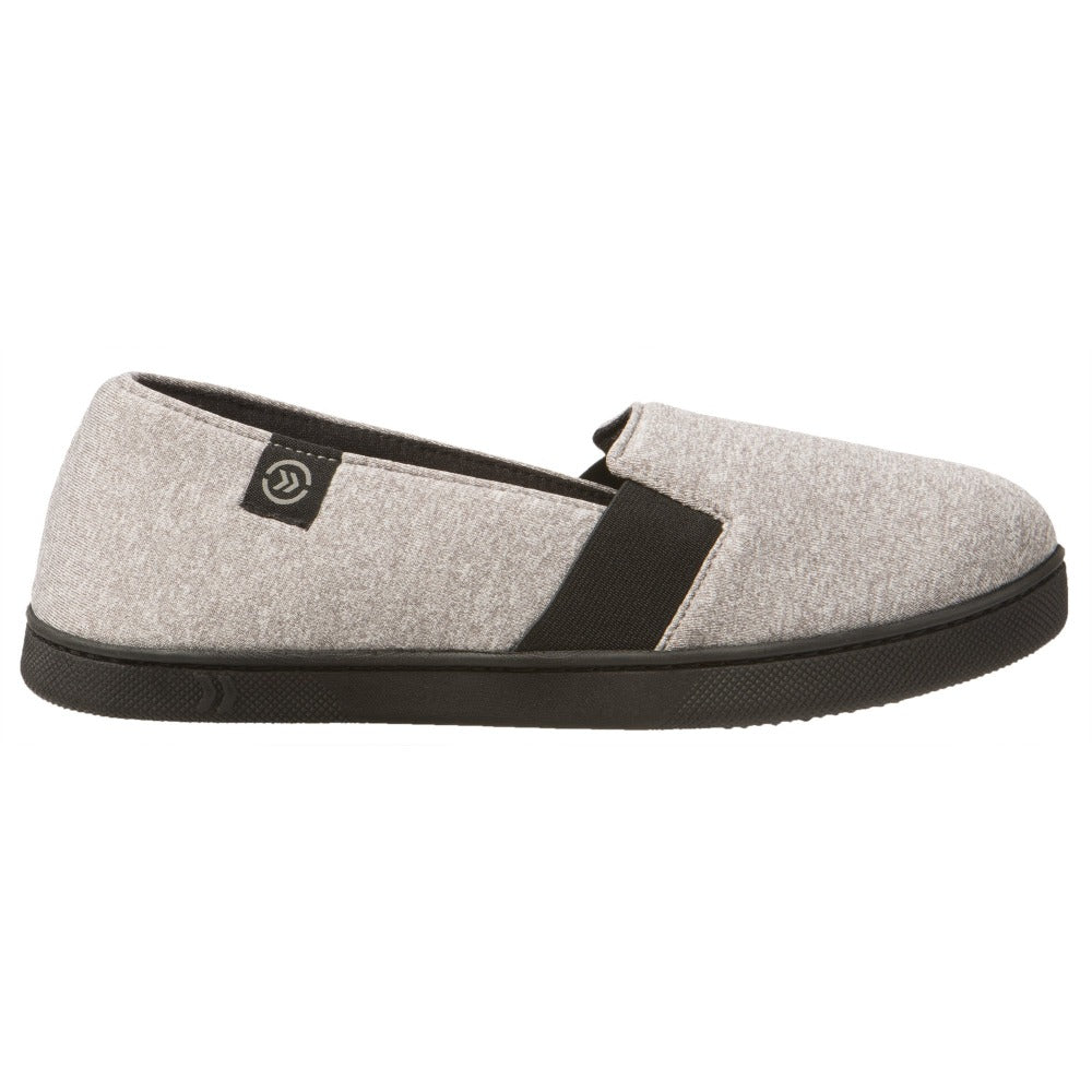 Women's Brandy Closed-Back Slippers in Heather Gray Profile