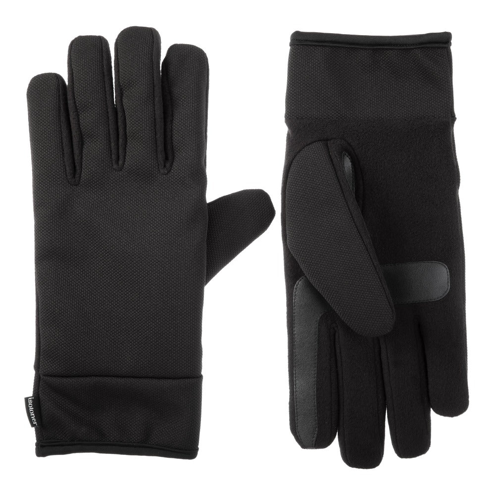 mens tech stretch glove in black