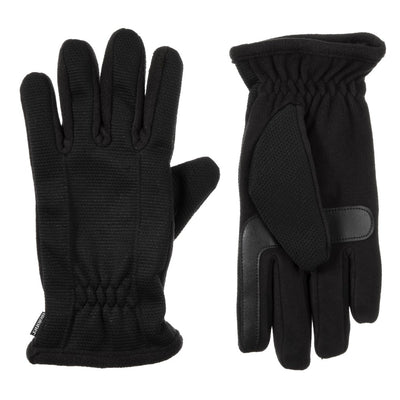 Men's Waterproof Back Draw Glove pair in Black side by side