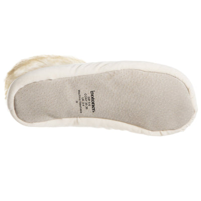 Women's Stretch Velour Sabrine Bootie Slippers in Ewe Bottom Sole Tread