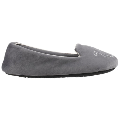 Women's Velour Conversational Smoking Slippers Mineral Profile