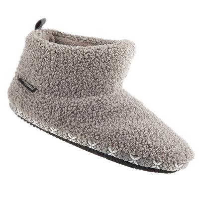 Women's Cozy Berber Nina Bootie Slippers in Mineral Right Angled View
