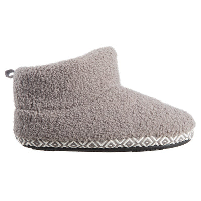 Women's Berber Nina Bootie Slippers in Ash Profile