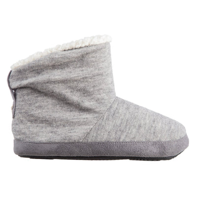 Women's Marisol Boot Slippers Heather Grey Profile
