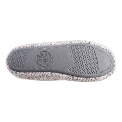 Women's Jessie Hoodback Slippers Stormy Grey Bottom Sole Tread