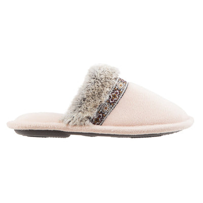 Women's Zulu Clog Slippers in Evening Sands (Pink) Profile