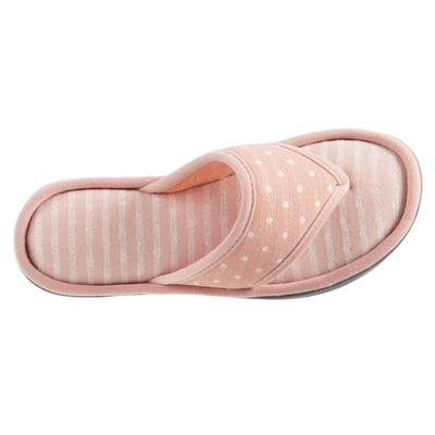 Women's Jersey Ada Thong Slipper in Coraline Top View