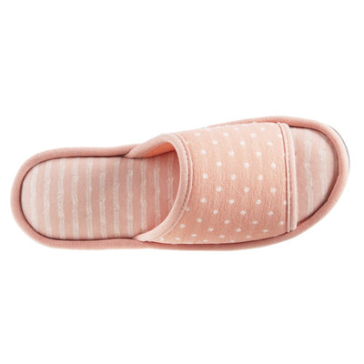 Women's Jersey Ada Slide Slipper in Coraline (Pink) Top View