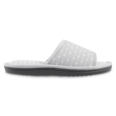 Women's Jersey Ada Slide Slipper in Storm Grey Profile View