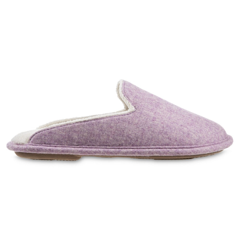 Women's Summer Woolen Randi Clog Slipper in Orchid Profile
