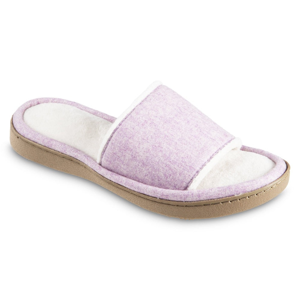 Women's Woolen Randi Slide Slipper color Orchid