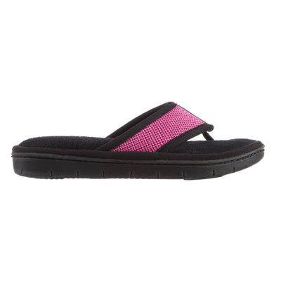 Women's Scout Mesh Thong Slippers in Strawberry Bright Pink Profile