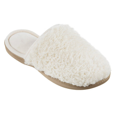 Women's Chenille Parker Clog Slippers in Ewe Right Angled View