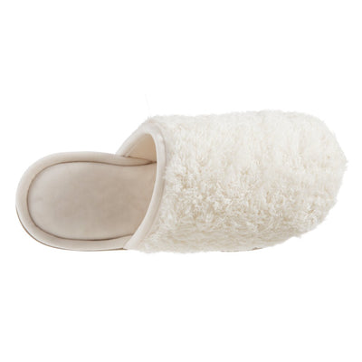 Women's Chenille Parker Clog Slippers in Ewe Inside Top View