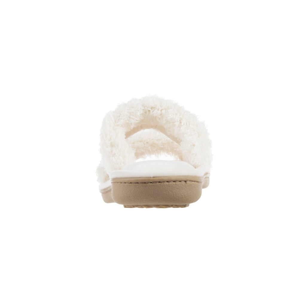 Women's Parker Chenille 2-Band Slide Slippers in Ewe Heel View