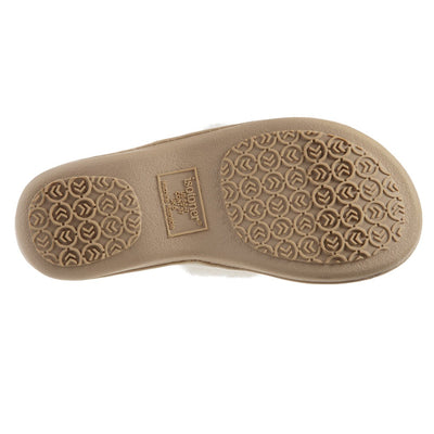 Women's Parker Chenille 2-Band Slide Slippers in Ewe Sole View