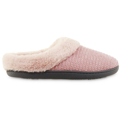 Women's Chenille Ann Hoodback Slippers in Evening Sand Profile