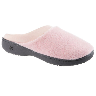 Signature Women's Matte Satin Hoodback Slippers