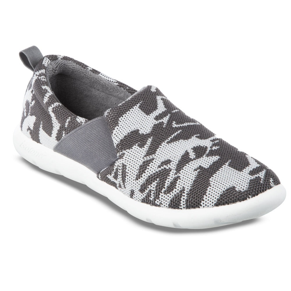 Zenz Women's Balance Slip-On in Ash Geo Print Right Angled View