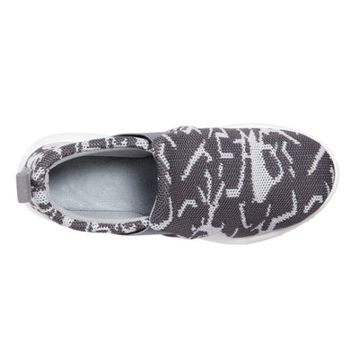 Zenz Women's Balance Slip-On in Ash Geo Print Inside Top View