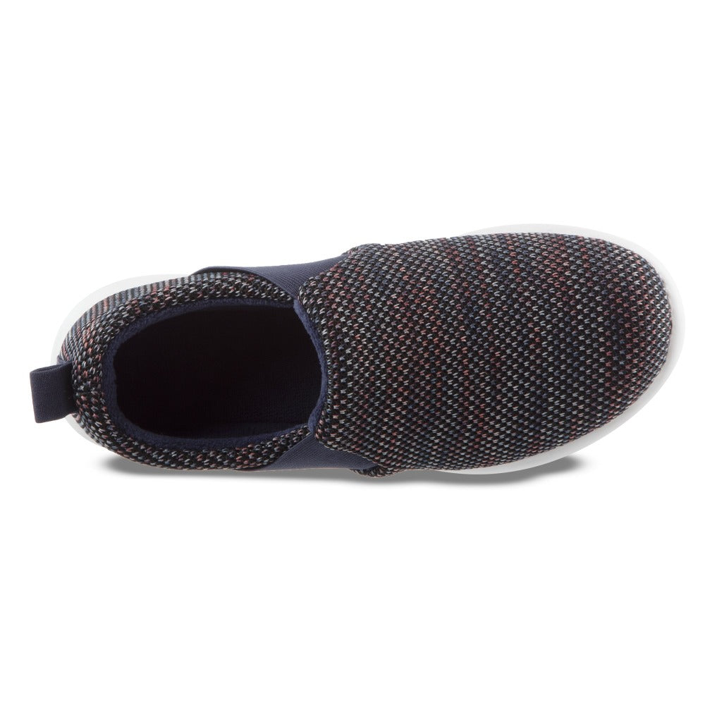 Zenz Women's Balance Slip-On in Navy Blue Inside Top View