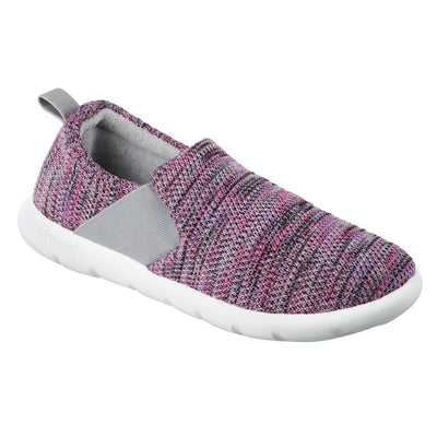 Zenz Women's Balance Slip-On in Paisley Purple Right Angled View