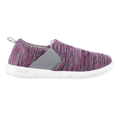 Zenz Women's Balance Slip-On in Paisley Purple Profile