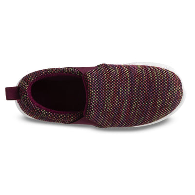 Zenz Women's Balance Slip-On in Wild Rose Inside Top View