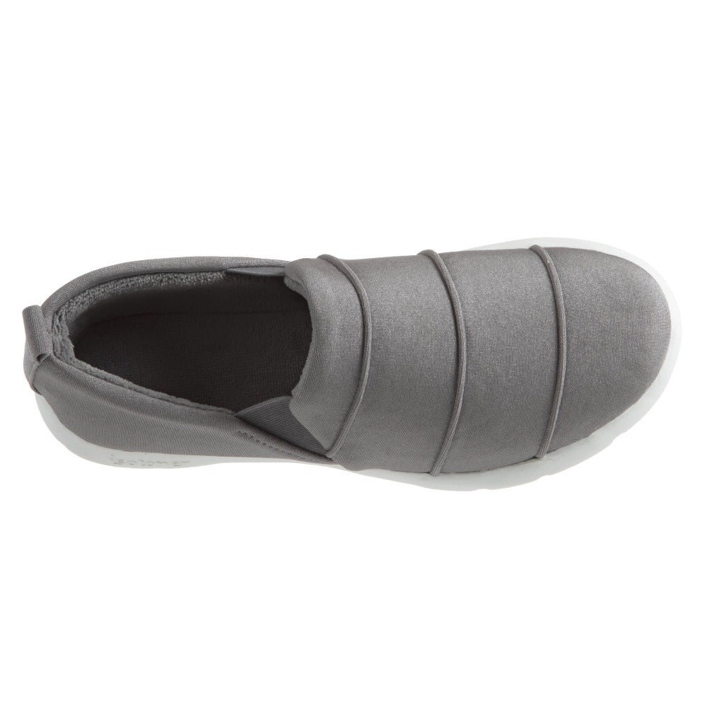 Zenz Women's Serenity Slip-On in Ash Top View
