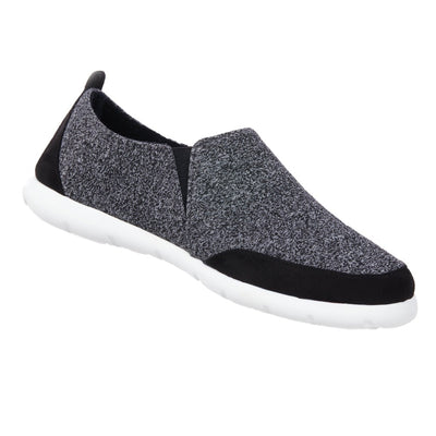 Men's Zenz  Activate Slipper Slip on Shoe in Black three quarter view