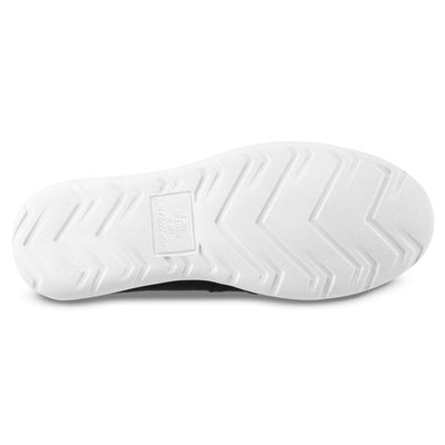 Zenz Men's Activate Slip-On in Black Bottom Sole Tread