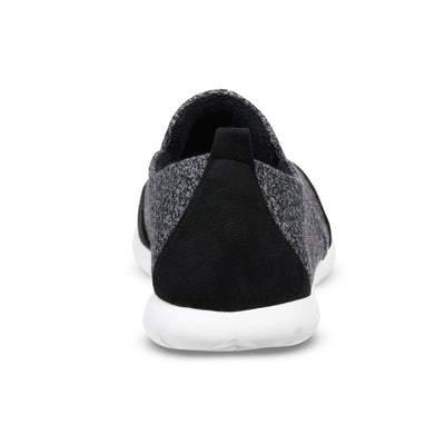 Zenz Men's Activate Slip-On in Black Back Heel