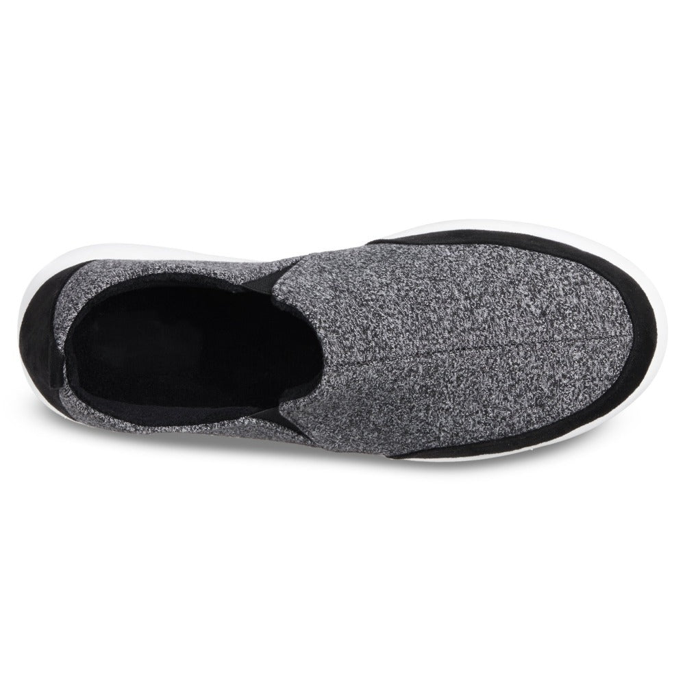 Zenz Men's Activate Slip-On in Black Inside Top View