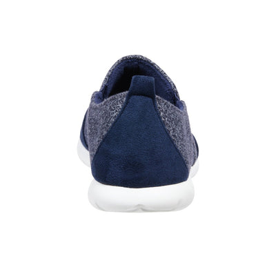 Zenz Men's Activate Slip-On in Navy Blue Back Heel