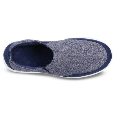 Zenz Men's Activate Slip-On in Navy Blue Inside Top View