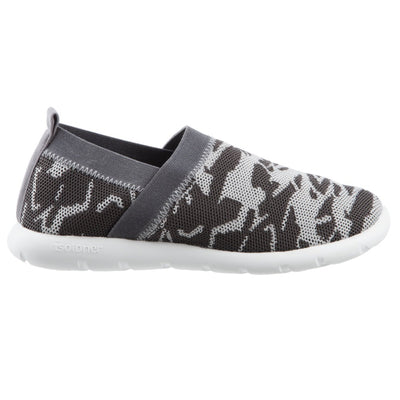Zenz Women's Harmony Slip-On in Ash Geo Print Profile