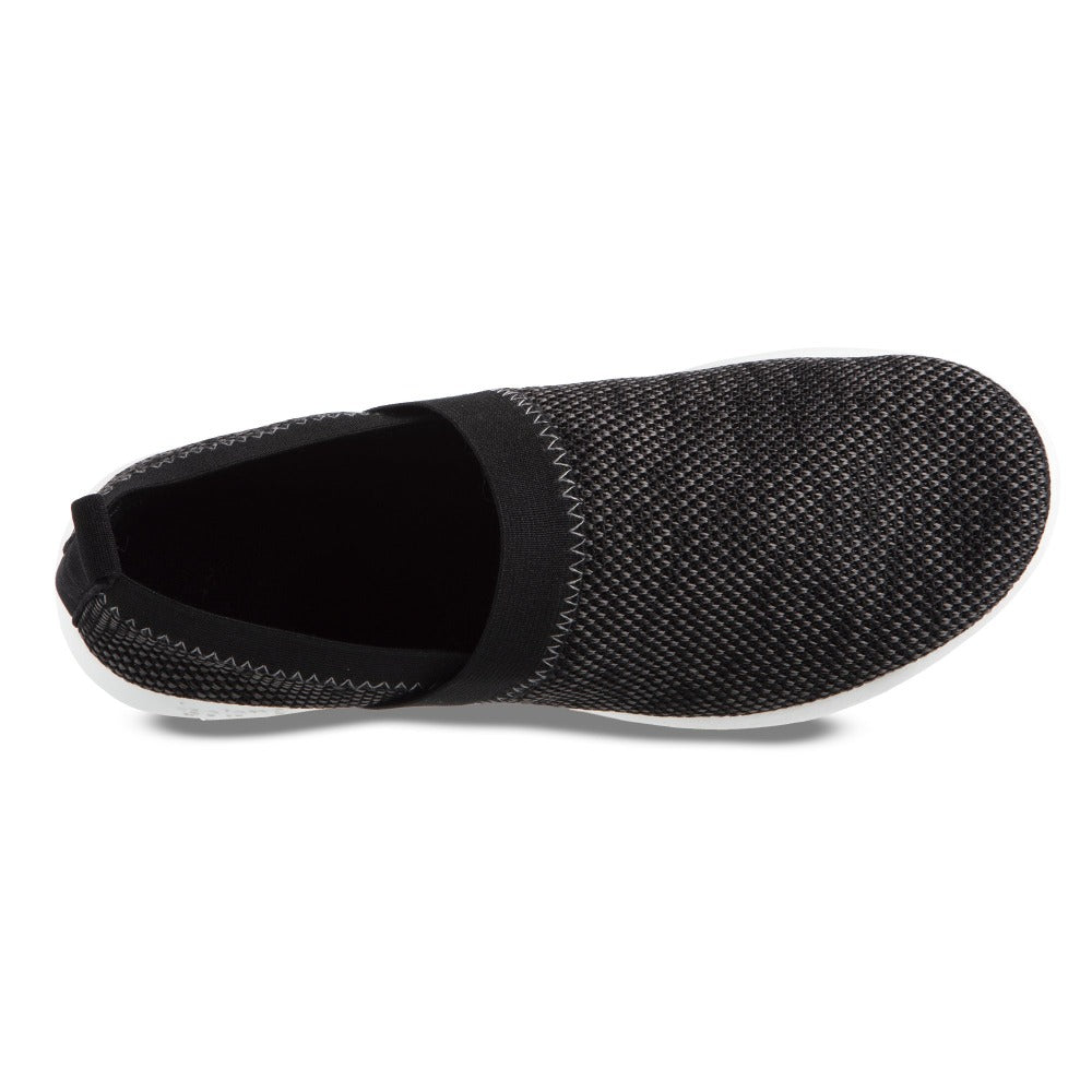 Zenz Women's Harmony Slip-On in Black Multi Inside Top View