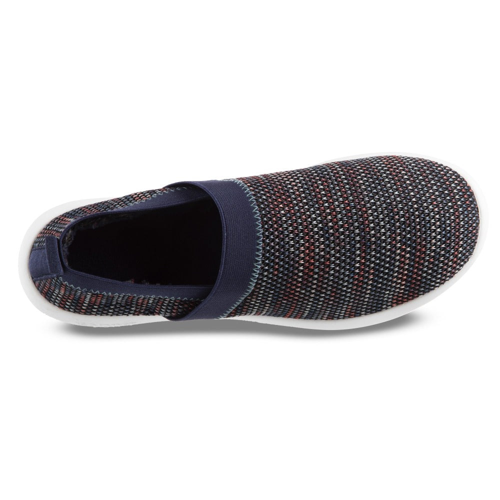 Zenz Women's Harmony Slip-On in Dark Blue Inside Top View