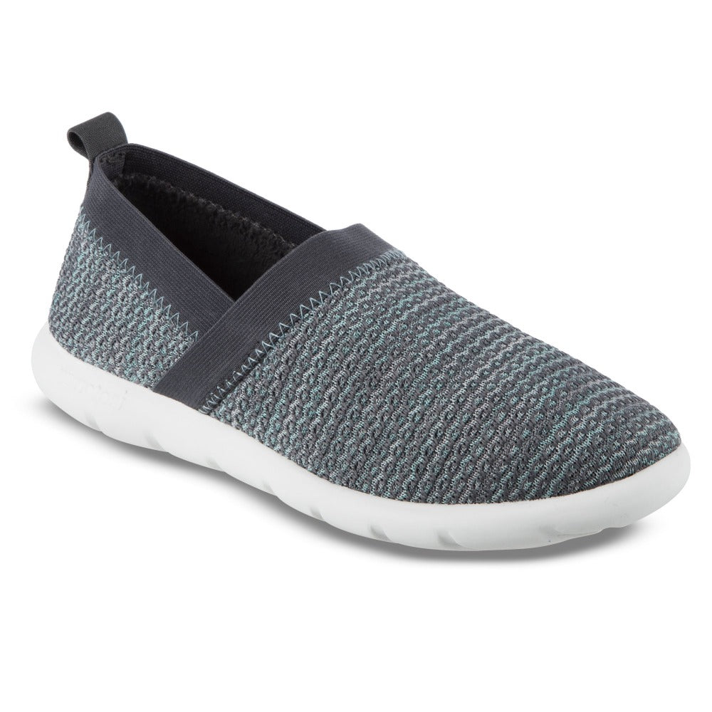Zenz Women's Harmony Slip-On in Mineral Right Angled View