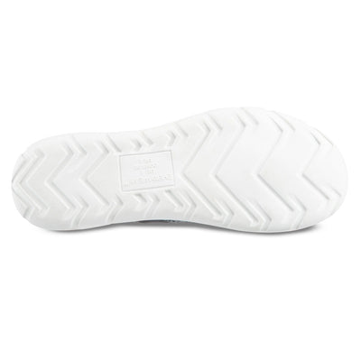 Zenz Women's Harmony Slip-On in Mineral Bottom Sole Tread