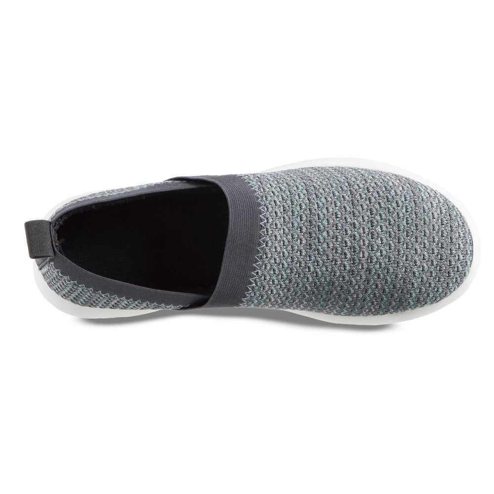 Zenz Women's Harmony Slip-On in Mineral Inside Top VIew