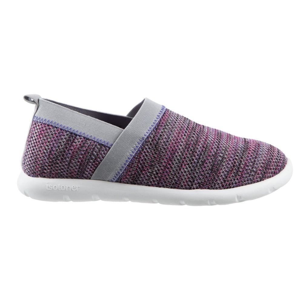 Zenz Women's Harmony Slip-On in Paisley Purple Profile