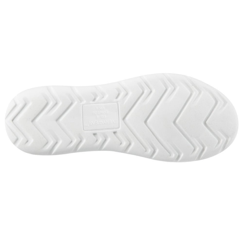 Zenz Women's Energize Slip-On in Ash Bottom Sole Tread