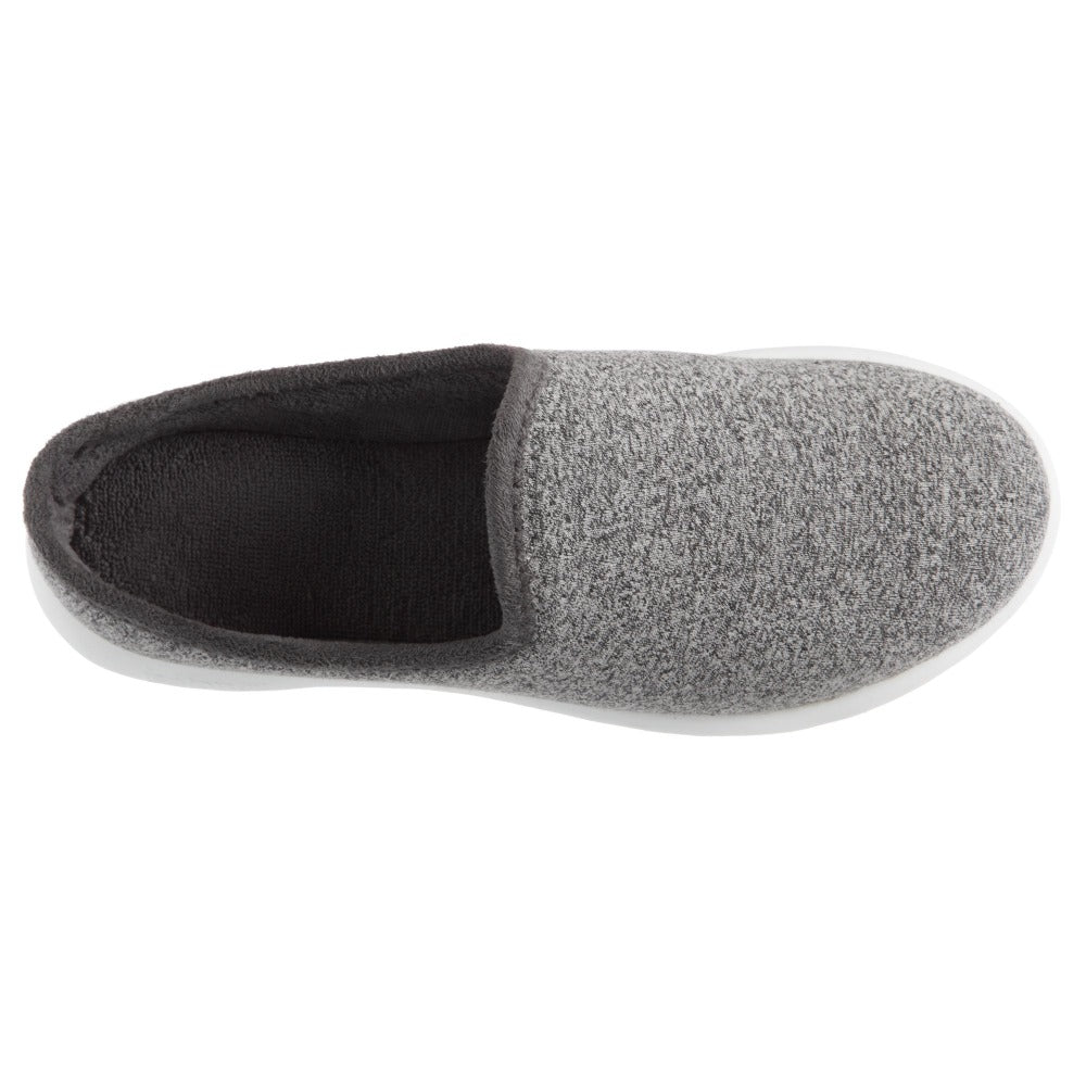 Zenz Women's Energize Slip-On in Ash Inside Top VIew