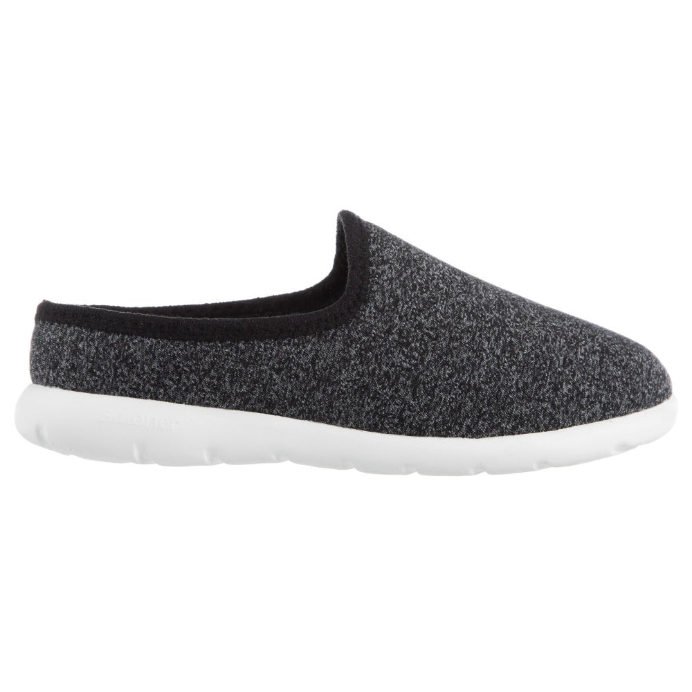 Zenz Women's Energize Slip-On in Black Heather Profile